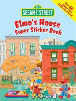 Sesame Street Elmo's House Super Sticker Book