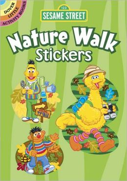 Sesame Street Nature Walk Stickers