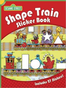 Sesame Street Classic Shape Train Sticker Book
