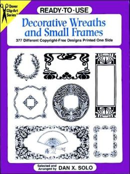 Ready-to-Use Decorative Wreaths and Small Frames