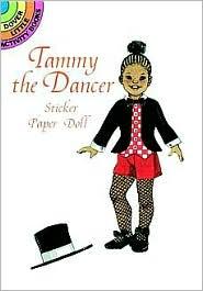 Tammy the Dancer Sticker Paper Doll