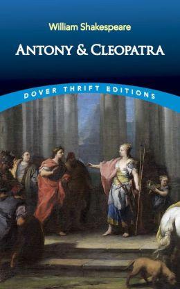 Antony and Cleopatra (Dover Thrift Editions)