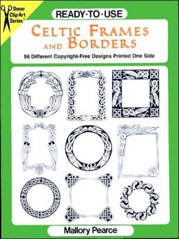Ready-to-Use Celtic Frames and Borders