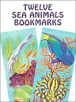 Twelve Sea Animals Bookmarks