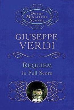 Requiem: In Full Score: Sheet Music