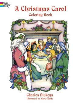 A Christmas Carol: A Coloring Book