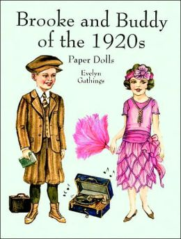 Brook and Buddy of the 1920s Paper Dolls