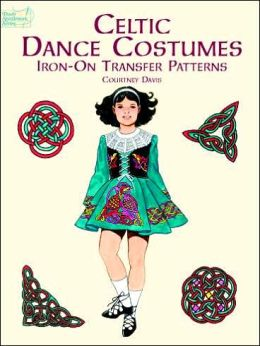 Celtic Dance Costumes Iron-on Transfer Patterns