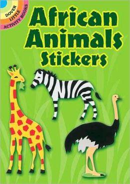 African Animals Stickers