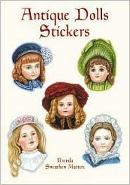 Antique Dolls Stickers