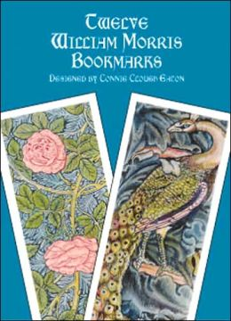 Twelve William Morris Bookmarks