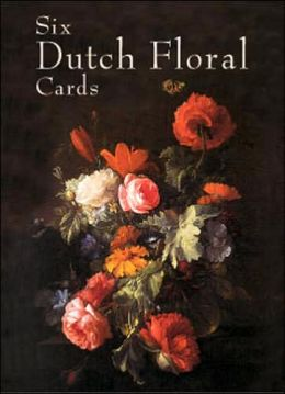 Six Dutch Floral Cards
