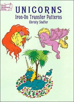 Unicorns Iron-On Transfer Patterns