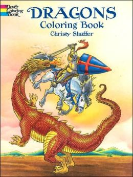Dragons Coloring Book