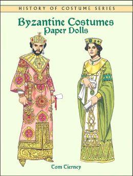 Byzantine Costumes: Paper Dolls