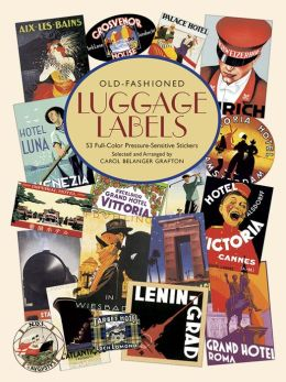 Old-Fashioned Luggage Labels