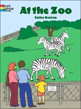 At the Zoo: Doyer Coloring Book