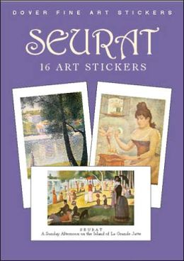 Seurat: 16 Art Stickers