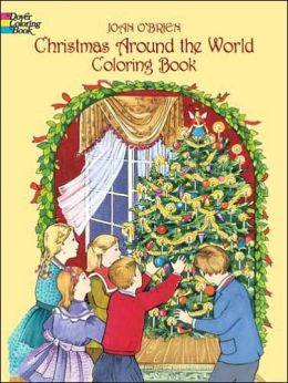 Christmas Around the World Coloring Book (Dover Coloring Book)