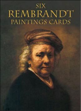 Six Rembrandt Paintings Cards