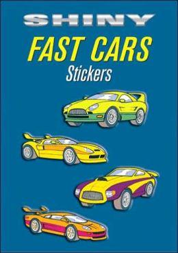 Shiny Fast Cars Stickers ( Shiny Sticker Series)