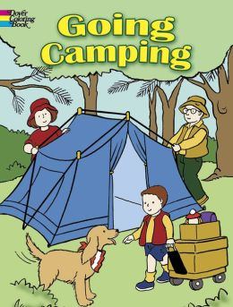 Going Camping (Dover Coloring Books Series)