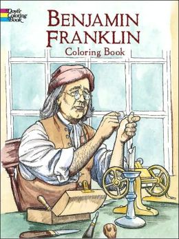 Benjamin Franklin Coloring Book