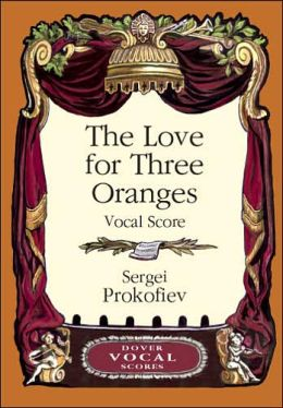 Love for Three Oranges Vocal Score