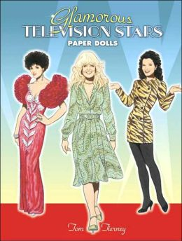 Glamorous Television Stars Paper Dolls