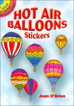 Hot Air Balloons Stickers (Dover Little Activity Books Series)