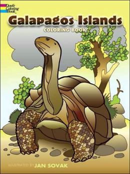 Galapagos Islands Coloring Book (Dover Pictorial Archive Series)