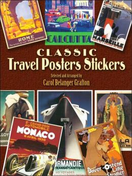 Classic Travel Posters Stickers