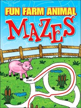 Fun Farm Animal Mazes