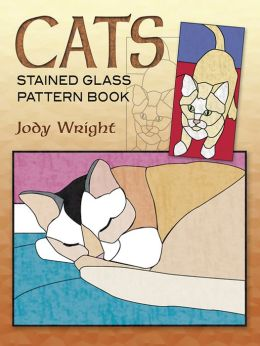 Cats: Stained Glass Pattern Book