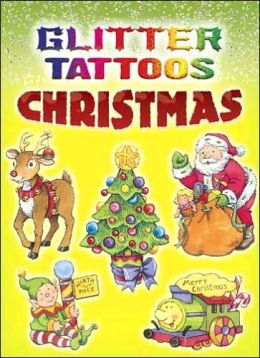 Glitter Tattoos Christmas