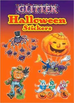 Glitter Halloween Stickers