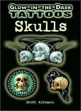Glow-in-the-Dark Tattoos Skulls