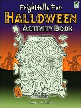 Frightfully Fun Halloween Activity Book