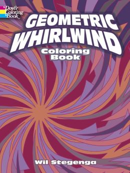 Geometric Whirlwind Coloring Book