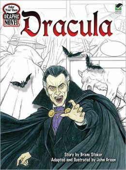 Color Your Own Graphic Novel DRACULA