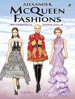 Alexander McQueen Fashions: Re-created in Paper Dolls