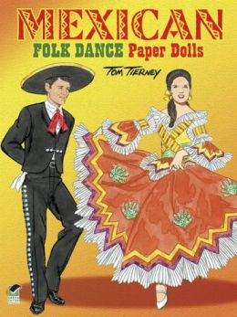 Mexican Folk Dance Paper Dolls