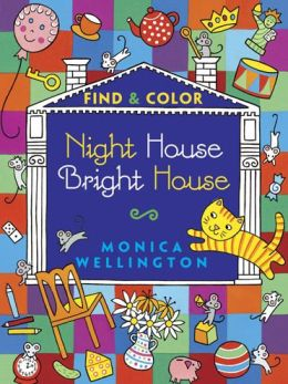 Night House Bright House: Find & Color