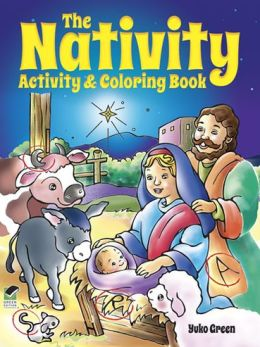 The Nativity Activity and Coloring Book