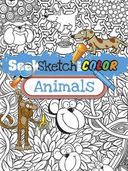 Seek, Sketch and Color -- Animals