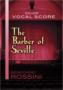 The Barber of Seville Vocal Score