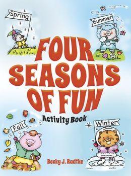 Four Seasons of Fun Activity Book