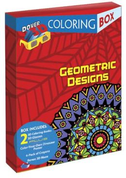 Geometric Designs 3-D Coloring Box