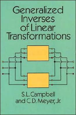Generalized Inverses of Linear Transformations