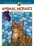 Book Cover Image. Title: Creative Haven Animals Mosaics Coloring Book, Author: Jessica Mazurkiewicz